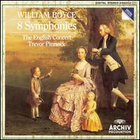 William Boyce: 8 Symphonies - Alastair Mitchell (bassoon); Amanda MacNamara (double bass); David Reichenberg (oboe); Francis Turner (violin); Graham Cracknell (violin); Guy Williams (flute); Jaap ter Linden (cello); Julie Lehwalder (cello); Lisa Beznosiuk (flute)