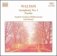 William Walton: Symphony No. 1; Partita - English Northern Philharmonia; Paul Daniel (conductor)