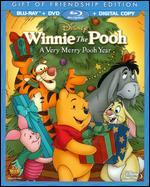 Winnie the Pooh: A Very Merry Pooh Year [2 Discs] [Includes Digital Copy] [Blu-ray/DVD]