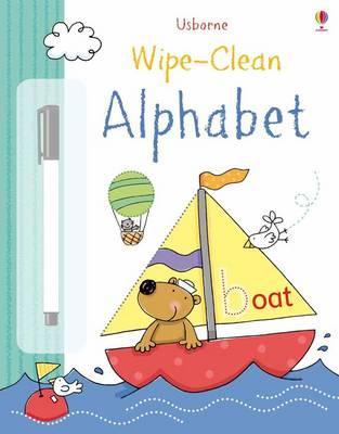 Wipe-Clean Alphabet - Brooks, Felicity