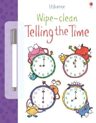 Wipe-Clean Telling the Time - Greenwell, Jessica