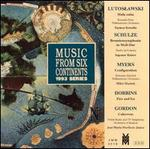 Witold Lutoslawski: Mala suita; Werner Schulze: Beamtensymphonie in Moll-Dur; Theldon Myers: Configuration; etc.