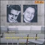 Wolf: Italienisches Liederbuch; Schumann: Frauenliebe und Leben; Brahms: Vier Ernste Gesänge