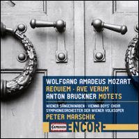 Wolfgang Amadeus Mozart: Requiem; Ave Verum; Anton Bruckner: Motets - Derek Lee Ragin (alto); Gotthold Schwarz (bass); Max Emanuel Cencic (soprano); Michael Knapp (tenor);...