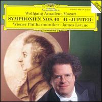 "Wolfgang Amadeus Mozart: Symphonien Nos. 40, 41 ""Jupiter"" - Wiener Philharmoniker; James Levine (conductor)"