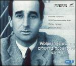 Wolpe in Jerusalem