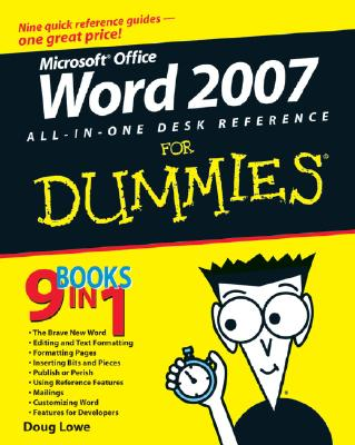 Word 2007 All-In-One Desk Reference for Dummies - Lowe, Doug