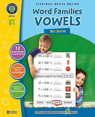 Word Families Big Book: Grades K-1 - Marck, Staci