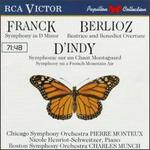 Works by Franck/D'Indy/Berlioz