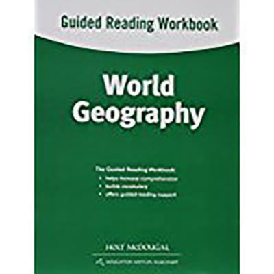 World Geography: Guided Reading Workbook - Holt McDougal (Prepared for publication by)