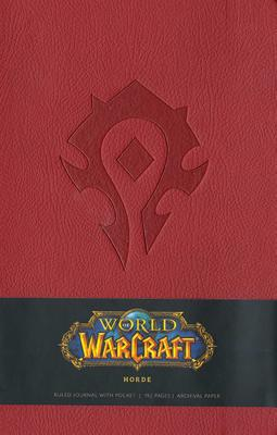 World of Warcraft Horde Hardcover Ruled Journal Large - Blizzard Entertainment