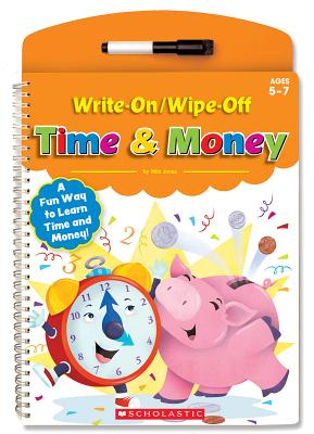 Write-On/Wipe-Off Time & Money - Milo, Jones