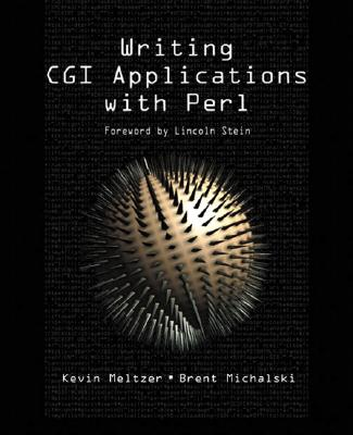 Writing CGI Applications with Perl - Meltzer, Kevin