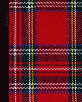 Writing Journal: Scottish Gifts for him or her; Lined Paper Notebook for Creative Writers or Personal Use (A large SOFTBACK with a PRINTED IMAGE of tartan from our Plaid in Red range) - Bookx, Smart
