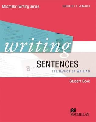 Writing Sentences - Zemach, Dorothy E.