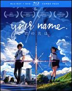 Your Name. [Blu-ray/DVD] [2 Discs] - Makoto Shinkai